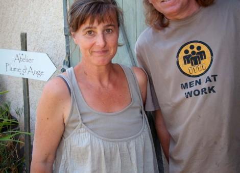 Sylvia et Pascal Chesneau artistes Moyaux Calvados Normandie