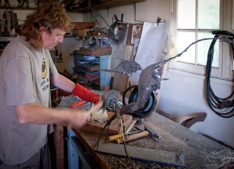 Pascal Chesneau artiste sculpteur Calvados Normandie