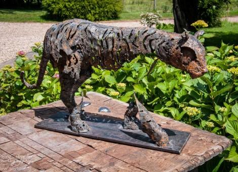 Pascal Chesneau artiste sculptures animalieres Moyaux Normandie