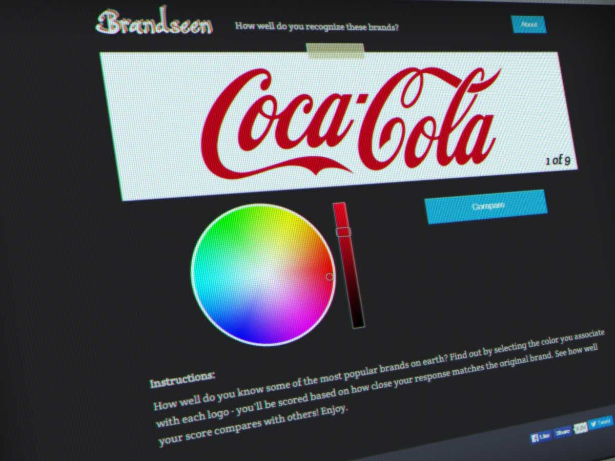 Brandseen jeu couleurs de logos