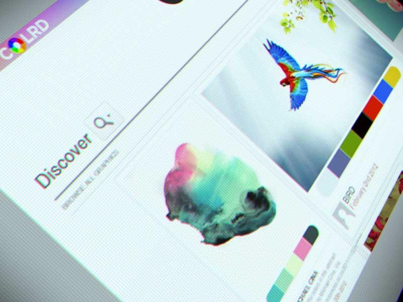 Colrd couleurs web design photos