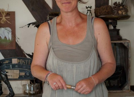 Sylvia Chesneau atelier plume d ange Moyaux Normandie