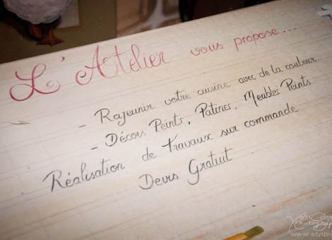 Sylvia Chesneau Atelier plume d ange Calvados Normandie