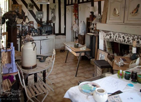 Sylvia Chesneau atelier plume ange Moyaux pays auge