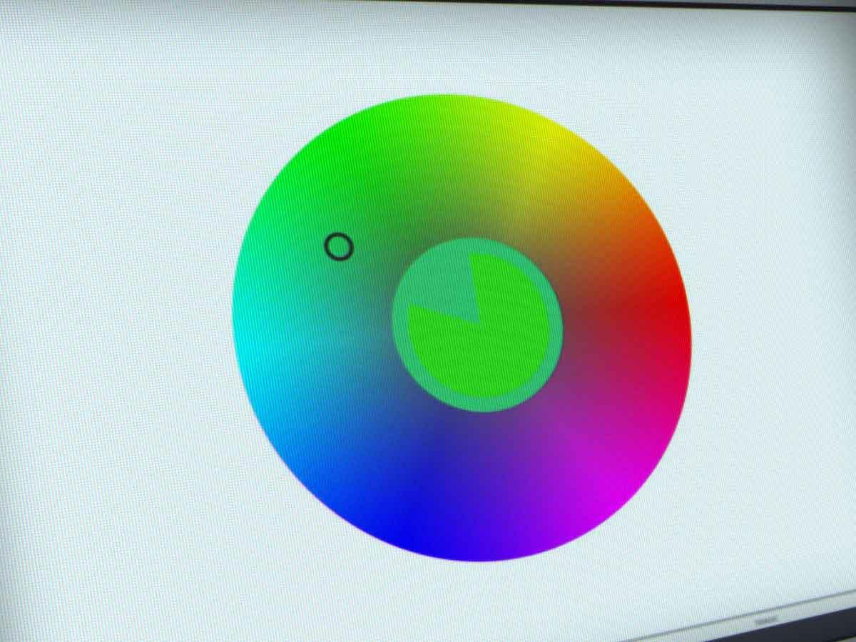Color method jeu couleurs cercle chromatique